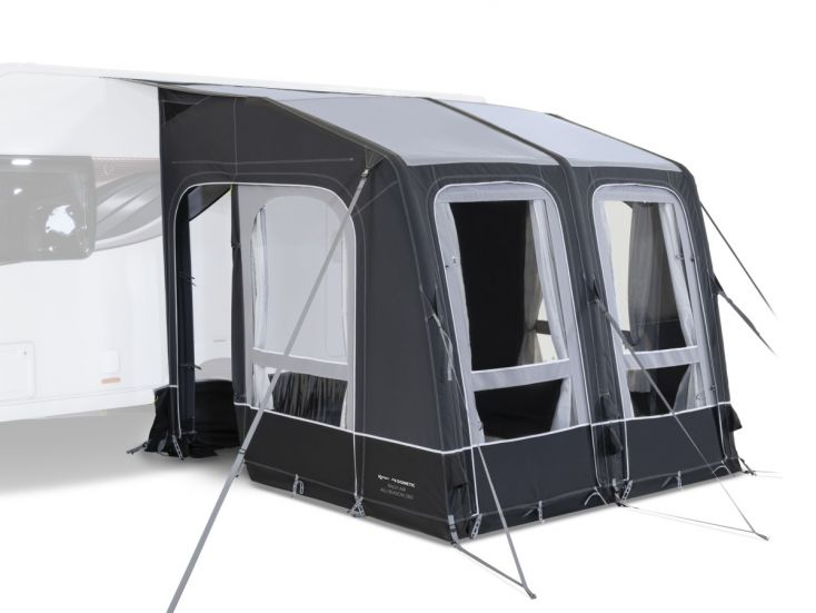 Kampa Rally Air All Season 260 avancé caravana